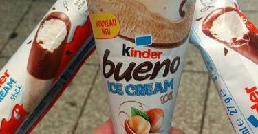 gelati kinder
